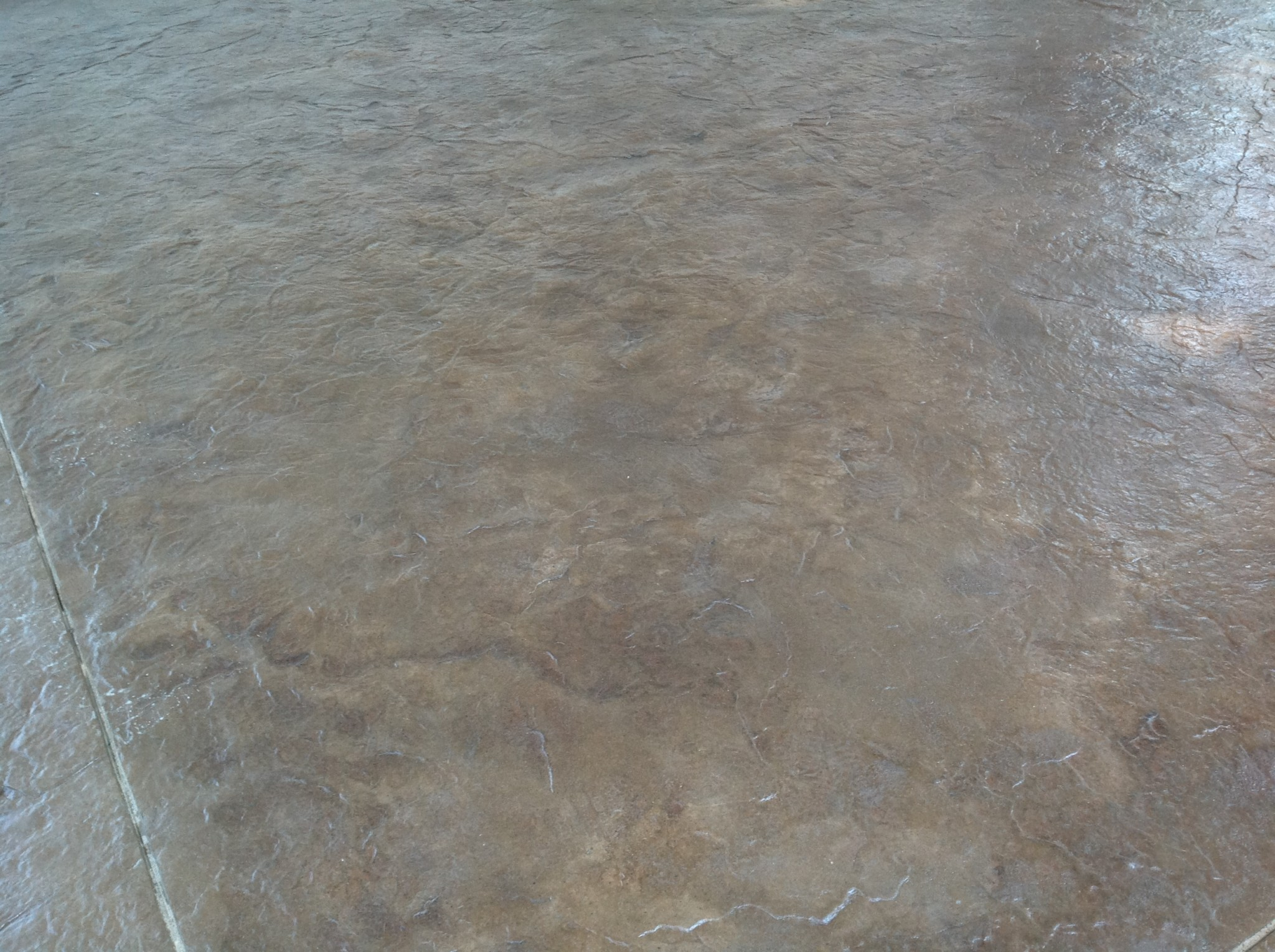 stained concrete basement floors